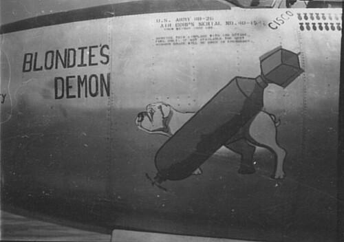 Warbird picture - B-26 'Blondie's Demon' 40-1547
