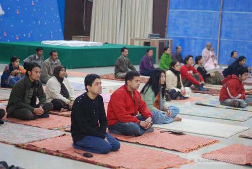 Yoga Class at patanjali