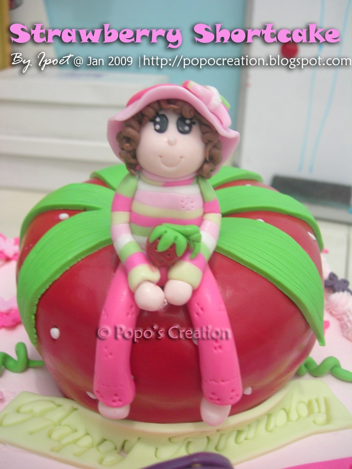 Strawberry Shortcake for Chaca