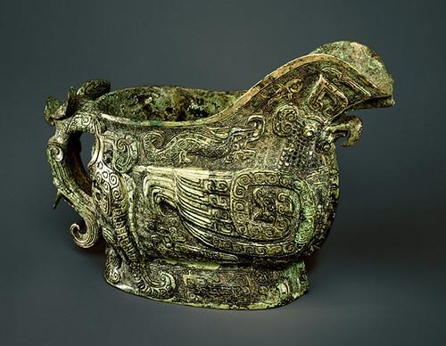 000-Recipiente de vino ritual-dinastía Shang (ca. 1300-1050 aC)- provincia de Henan-China- Copyrigth © 2000-2009 The Metropolitan Museum of Art
