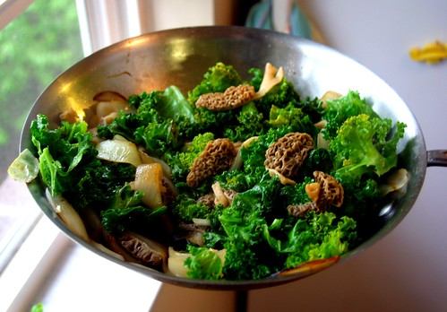 Morel Stir-fry