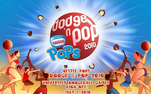 Nestle Dodge 'n pop 2010