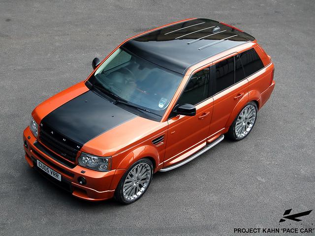 orange black car laranja preto carro landrover rangerover roda aro projectkahn