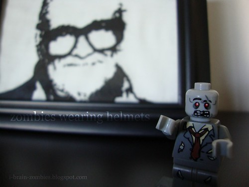 George Romero by Giggly Mama