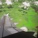 Jawa Tengah dari udara (Infrared)