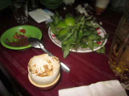 Balut egg in Saigon