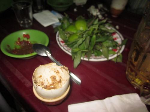 Balut egg in Saigon