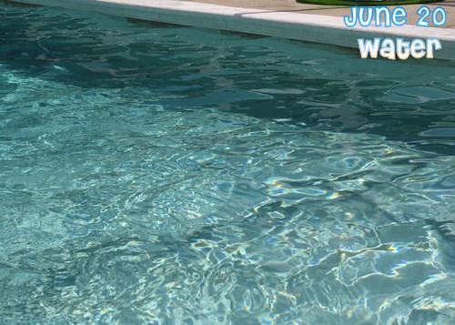 June 20--Water