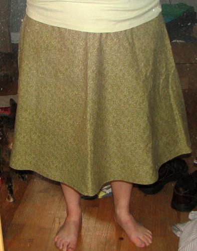 First Skirt