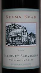 Nelms Road 2006 Cabernet Sauvignon