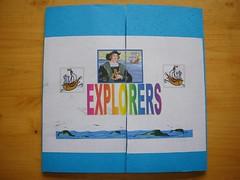 Explorer Lapbook cover
