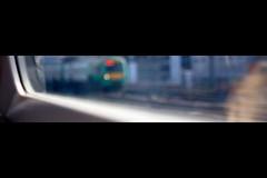 _Trains (All that remains) Tags: orange green window speed train bokeh trains boredom rush 164 aspire2hope