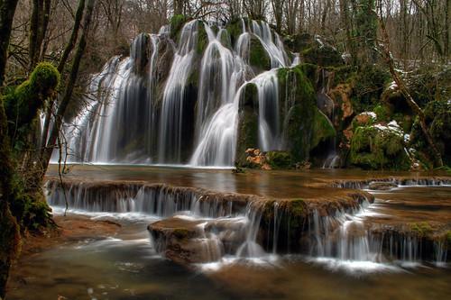Cascades de Tufs - Les Planches - Arbois - Jura - France by louistib.