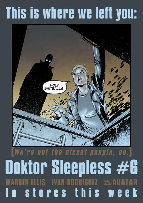 Doktor Sleepless #6 Teaser