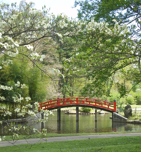 Bridge, Japanese Garden of Tranquility