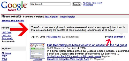 Google News Makes Quotes More Discoverable - Search