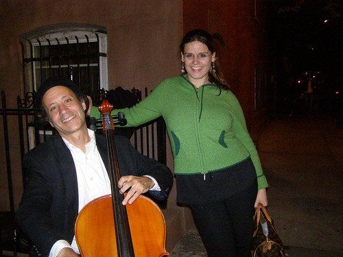 West Village Cellist