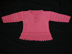 lacy cotton sweater 1