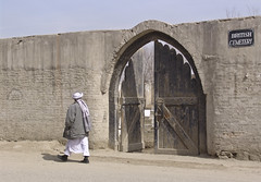 Entrance to the foreign cemetery