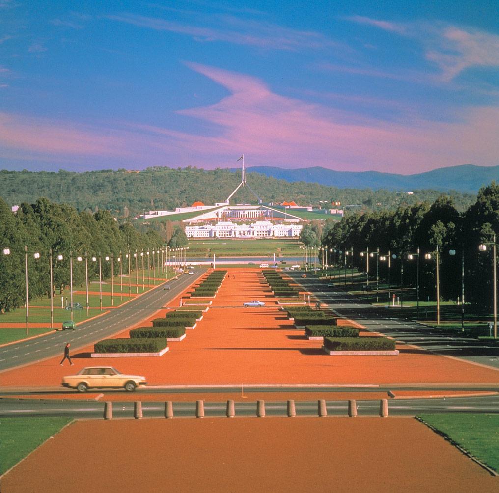 Sydney - Canberra pemandangan