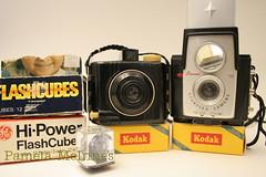 more vintage love (Jyrkalypse) Tags: camera baby film vintage kodak flash cameras brownie cubes expired expiredfilm flashcube