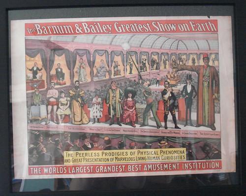 Circus Poster Peerless Prodigies