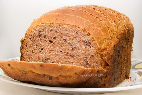 Homemade Purple Rice Bread