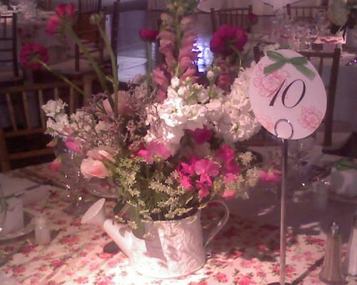 Flower pot centerpiece ideas