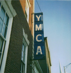 ymca (ChristinaBrown) Tags: old blue sign vintage ymca beverlyma