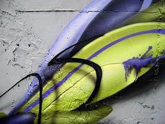detail (mrzero) Tags: streetart detail green art lines wall effects grey graffiti 3d paint hungary letters spray styles colored graff cfs mrzero salgtarjn