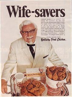 Kentucky Fried Chicken Ad 1968