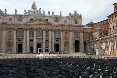 St. Peter's Basilica viewed from Saint P by jimmyharris, on Flickr