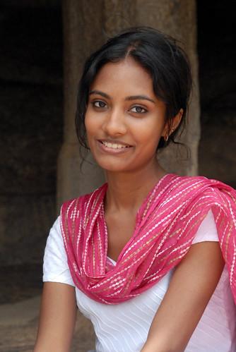 [フリー画像] 人物, 女性, アジア女性, インド人, 200807081900