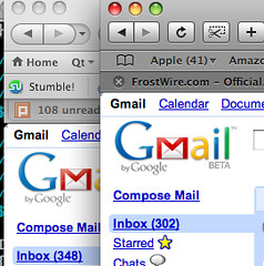 Gmail's Black Dot, Do you see it too?