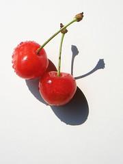 [フリー画像] 食べ物, 果物/フルーツ, さくらんぼ, 200807092100