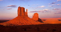 Monument Valley - August 1978 (tonopah06) Tags: park sunset monument utah tribal valley 1978 navajo