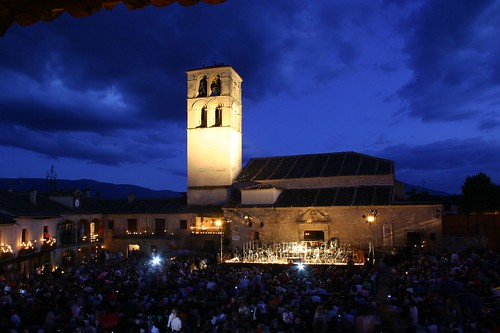 Plaza Mayor, previa concierto de la Orquesta Sinfónica Bohemia de Praga