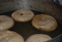 Peter Reinhart's Bagels - Boil