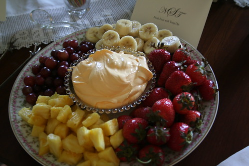 Fruit with Tang Dip