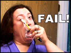 52/365: Fail!