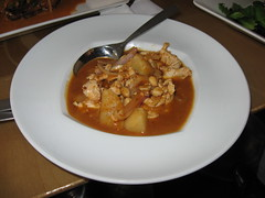 Highline: Massaman curry with organic chicken breast