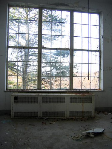 Sun room in the Reville building