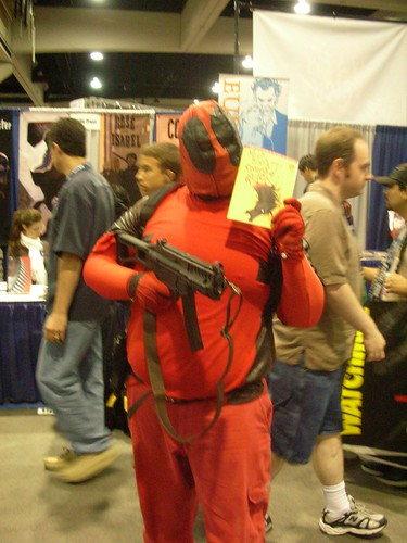 Deadpool likes my Melvins Comic