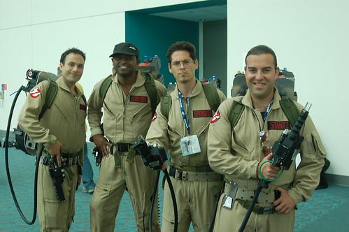 Comic Con 2008: Ghostbusters