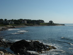 Cliff Walk, Newport, RI by jmcrichard