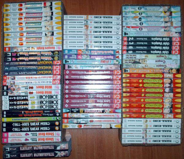 Comic-Con loot 2 - manga