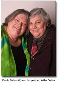 Carole Cullum and Kahty Brehm