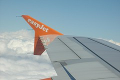 easyJet Winglet (WrldVoyagr) Tags: sky clouds aerial airbus bud winglet dtm easyjet planeview a319