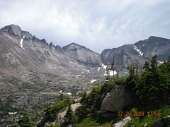 Long's Peak, Keyboard of Winds, Pagoda, Spearhead, & Chief's Head