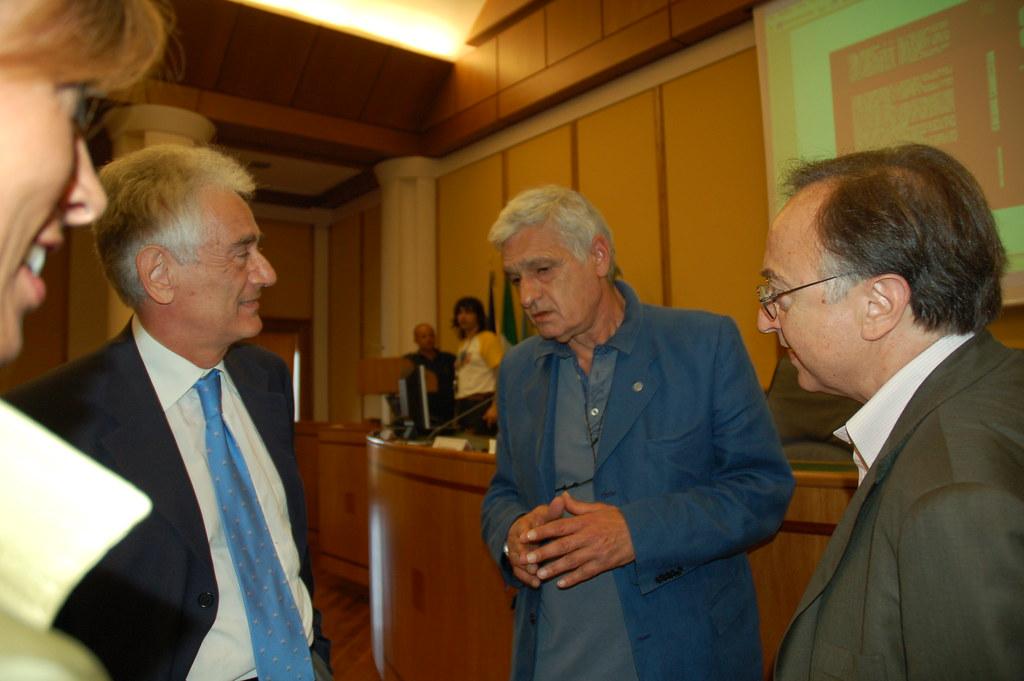 Franco Cuccurullo, Orfeo Notaristefano, Vincenzo D'Ambra